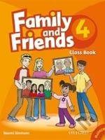 Oxford University Press Family and Friends 4 - Class Book + MultiROM - cena od 273 Kč