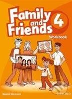 Oxford University Press Family and Friends 4 - Workbook - cena od 167 Kč
