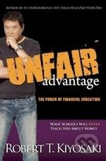 XXL obrazek Plata Publishing Unfair Advantage - Robert T. Kiyosaki
