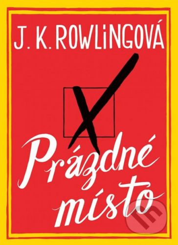 J. K. Rowling: Prázdné místo cena od 447 Kč