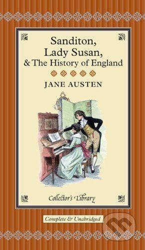 Jane Austen: Sanditon, Lady Susan & the History of England cena od 212 Kč