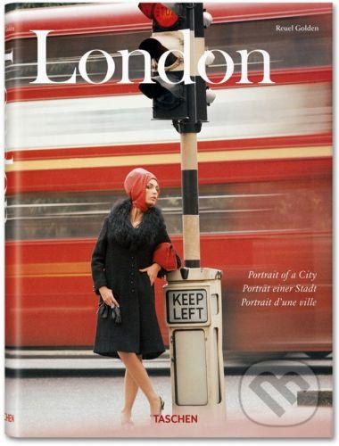 Taschen London: Portrait of a City - Reuel Golden cena od 1402 Kč