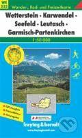freytag&berndt Wetterstein-Karwendel-Seefeld-Leutasch-Garmisch Partenkirchen - cena od 181 Kč
