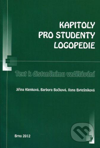 Paido Kapitoly pro studenty logopedie - Jiřina Klenková, Barbora Bočková, Ilona Bytešníková cena od 149 Kč