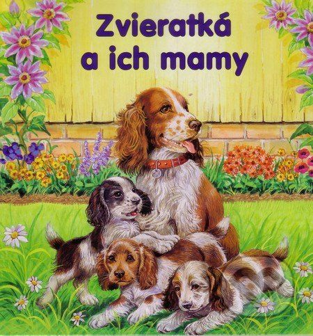 Foni book Zvieratká a ich mamy - cena od 51 Kč