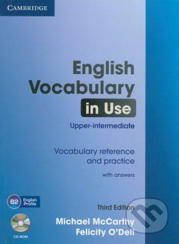 Cambridge University Press English Vocabulary in Use - Upper-intermediate + CD-ROM - Michael McCarthy, Felicity O'Dell cena od 572 Kč