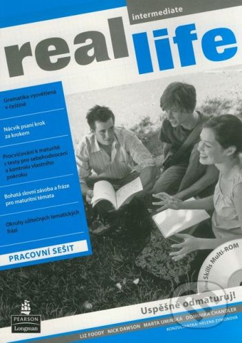 Pearson, Longman Real Life - Intermediate - Pracovní sešit - Liz Foody a kol. cena od 238 Kč