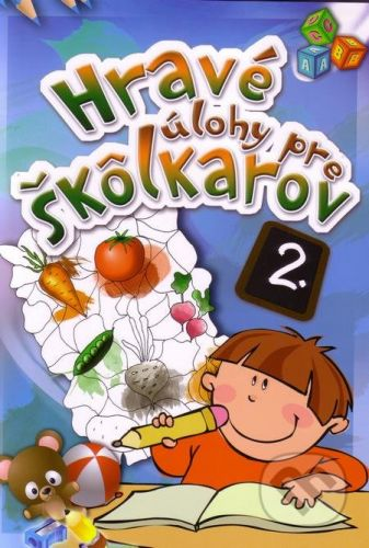 EX book Hravé úlohy pre škôlkarov 2. - cena od 40 Kč