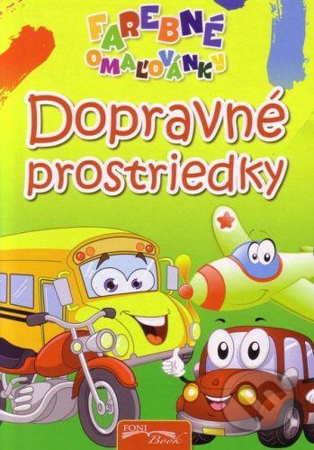 Foni book Dopravné prostriedky - cena od 23 Kč
