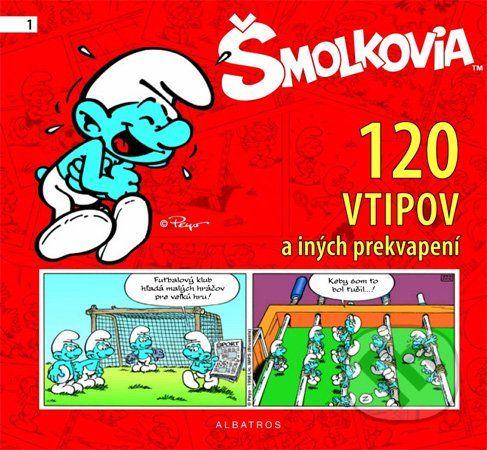 Albatros Šmolkovia (120 vtipov a iných prekvapení) - cena od 220 Kč