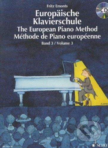 SCHOTT MUSIC PANTON s.r.o. Europäische Klavierschule/The European Piano Method + CD - Fritz Emonts cena od 314 Kč