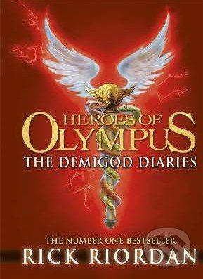 Puffin Books Heroes of Olympus: The Demigod Diaries - Rick Riordan cena od 207 Kč