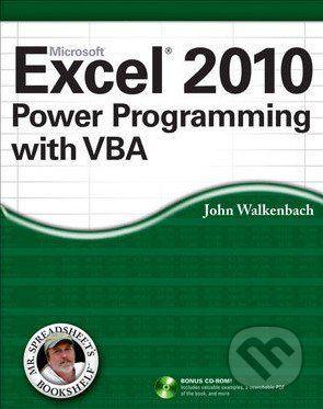 John Wiley & Sons Microsoft Excel 2010 Power Programming with VBA - John Walkenbach cena od 1074 Kč
