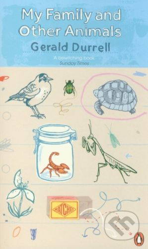 Penguin Books My Family and Other Animals - Gerald Durrell cena od 276 Kč