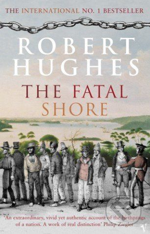 XXL obrazek Vintage The Fatal Shore - Robert Hughes