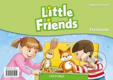 Oxford University Press Little Friends - Flashcards - Susan Iannuzzi cena od 228 Kč
