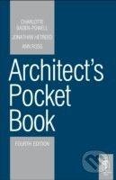 Architectural Press Architects Pocket Book - Ann Ross cena od 890 Kč