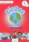Cle International Zigzag 1 A1: Livre de l'él cena od 321 Kč