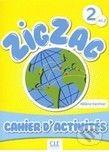 Cle International Zigzag 2 A1/2: Cahier d'activités - cena od 211 Kč