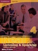 Cambridge University Press Cambridge English Skills: Real Listening and Speaking 4 without answers - Miles Craven cena od 464 Kč