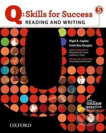 Oxford University Press Q: Skills for Success: Reading and Writing 5 - Student Book with Online Practice - Sarah Lynn cena od 442 Kč