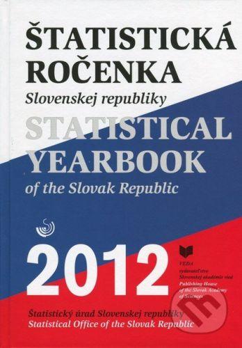 VEDA Štatistická ročenka Slovenskej republiky 2012 / Statistical Yearbook of the Slovak Republic 2012 - cena od 1283 Kč