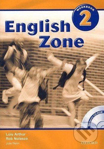 Oxford University Press English Zone 2 - Workbook - Rob Nolasco cena od 193 Kč