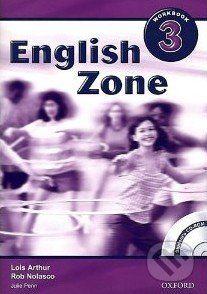 Oxford University Press English Zone 3 - Workbook - Rob Nolasco cena od 193 Kč