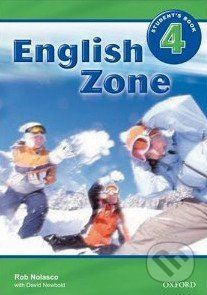 Oxford University Press English Zone 4 - Student's Book - Rob Nolasco cena od 244 Kč