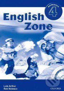 Oxford University Press English Zone 4 - Workbook - Rob Nolasco cena od 163 Kč