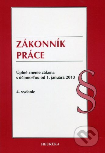 Heuréka Zákonník práce - cena od 77 Kč