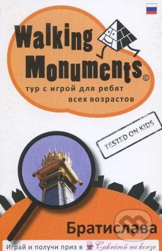 vydavateľ neuvedený Walking Monuments - Ľubomír Okruhlica cena od 96 Kč