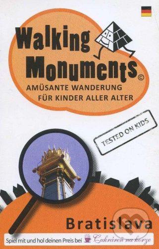 vydavateľ neuvedený Walking Monuments - Ľubomír Okruhlica cena od 91 Kč