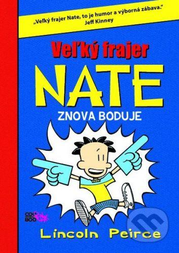 CooBoo Veľký frajer Nate znova boduje - Lincoln Peirce cena od 194 Kč