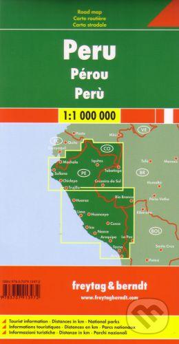 freytag&berndt Peru 1:1 000 000 - cena od 190 Kč