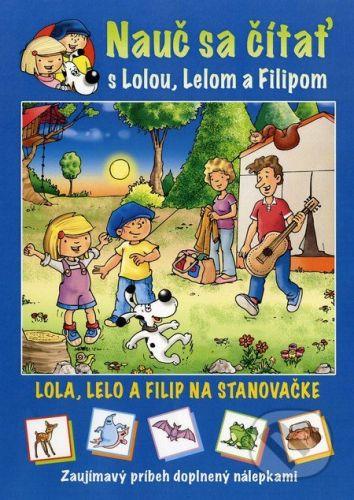 Major Lenia: Nauč sa čítať s Lolou, Lelom a Filipom cena od 62 Kč