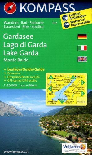 Kompass Gardasee / Lago di Garda / Lake Garda - cena od 201 Kč
