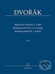 Editio Bärenreiter Praha Smyčcový kvartet č. 1 A dur op. 2 - Antotnín Dvořák cena od 329 Kč