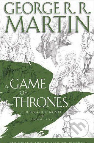HarperCollins Publishers A Game of Thrones: Graphic Novel - George R.R. Martin cena od 503 Kč