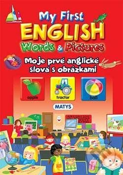 Matys My first English Words & Pictures - cena od 172 Kč