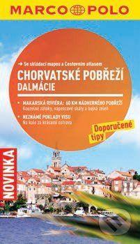 Susanne Sachau: Chorvatské pobřeží, Dalmácie - Průvodce se skládací mapou cena od 110 Kč
