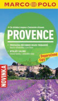 Provence - Průvodce se skládací mapou cena od 110 Kč