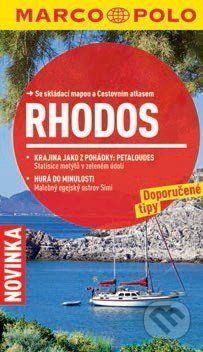 Rhodos - Průvodce se skládací mapou cena od 100 Kč