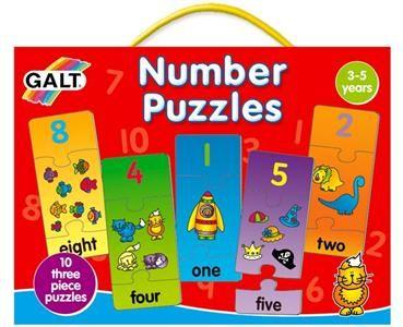 Galt: Puzzle – moje první anglické číslice 2.