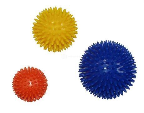 Acra masážní míček průměr 8 cm