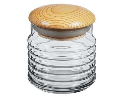 VETRO-PLUS Dóza s dřevěným víkem 0,6 l cena od 59 Kč