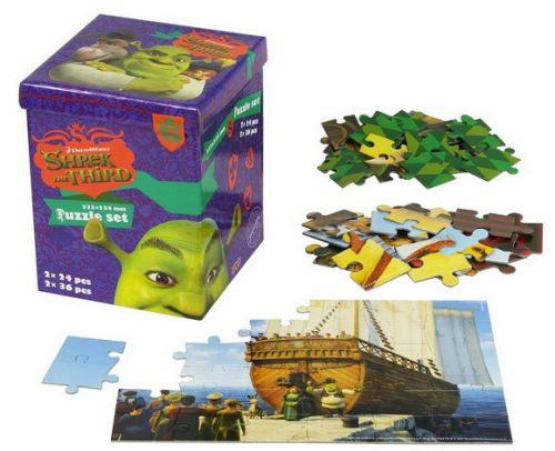 EFKO Puzzle set Shrek cena od 99 Kč