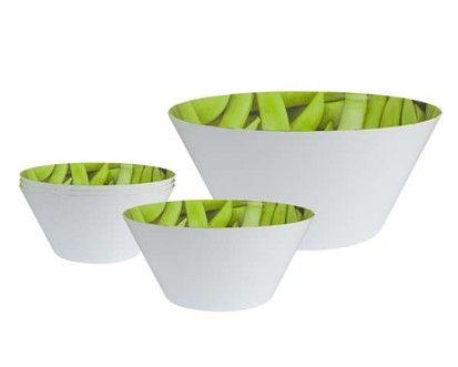 VETRO-PLUS 5d sada melaminových salátových misek Peas cena od 167 Kč