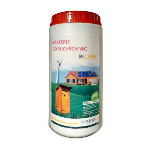 BIOCLEAN Biodry do suchých WC 100 g