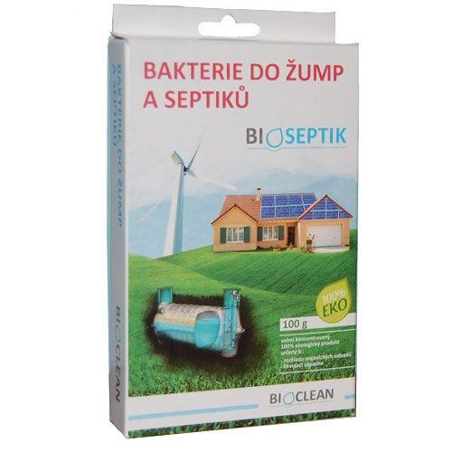 BIOCLEAN Bioseptik bakterie do žump a septiků 100 g